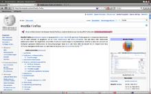 Bildschirmfoto Firefox
