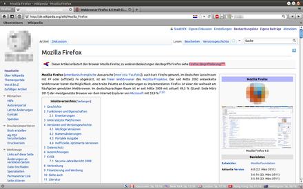 mozilla firefox 9.5