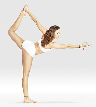 Natarajasana - Image: Mr yoga lord of dance 1