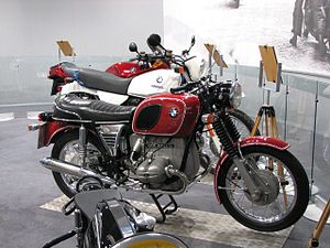 Red BMW R60/5