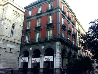 Museum of the Treasure of San Gennaro - Main entrance