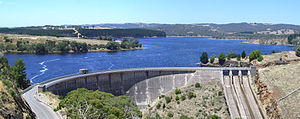 Myponga Reservoir - Image: Myponga panorama 2