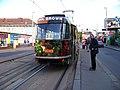 Nádraží Strašnice, tramvaj XA.jpg