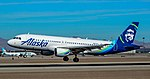 N623VA Alaska Airlines Airbus A320-214 s n 2740 (46127639515).jpg