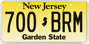 New Jersey Motor Vehicle Commission - Image: NJ 2013