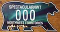 NORTHWEST TERRITORIES 2011 -NEW STYLE SOUVENIR SAMPLE LICENSE PLATE -TYPE 2, NORTHERN LIGHTS - Flickr - woody1778a.jpg