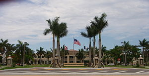 Nova Southeastern University - Main Entrance of NSU.