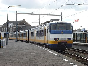 Dutchflyer - A Nederlandse Spoorwegen train at Hoek van Holland Haven station