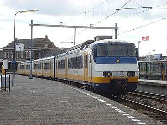 Dutchflyer - A Nederlandse Spoorwegen train at Hoek van Holland Haven station