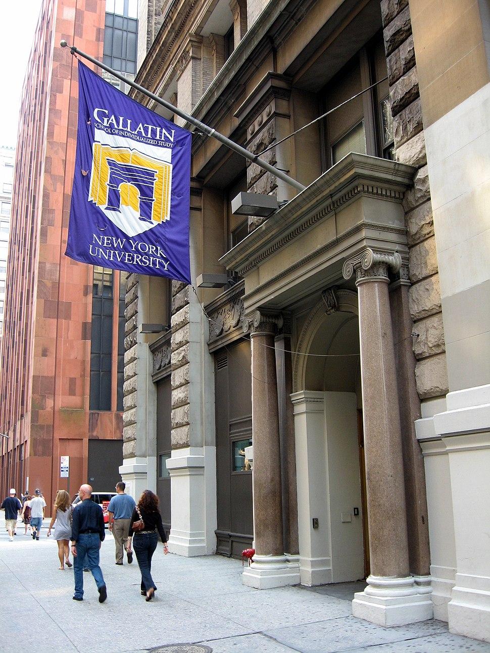 NYU-Gallatin School