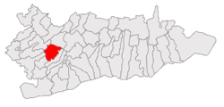 Location of Nana, Călăraşi