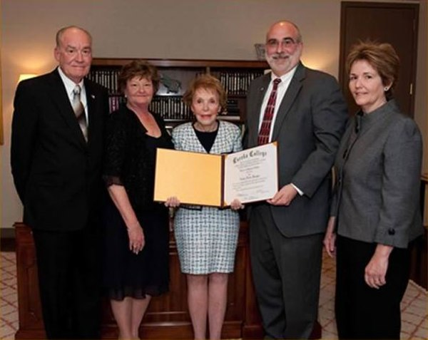Nancy Reagan honorary degree 2009