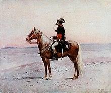 Il generale Napoleone Bonaparte in Egitto.