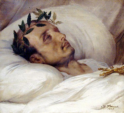 Napoleon sur son lit de mort Horace Vernet 1826