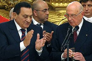 Napolitano-Mubarak