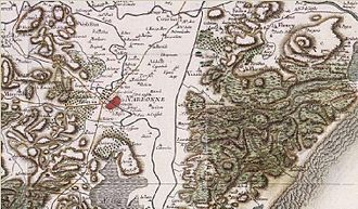 Narbonne - Narbonne circa 1780