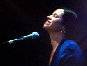 Natalie Merchant - Merchant at the piano in 2005