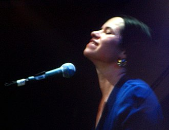 Natalie Merchant - Merchant at the piano in 2005