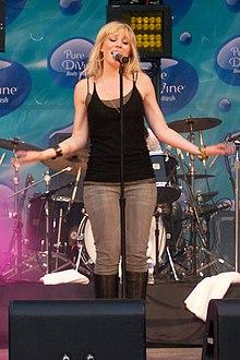 Natasha Bedingfield en la jaro 2007