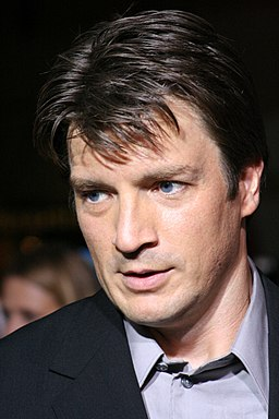 Nathan Fillion at Serenity premiere 1