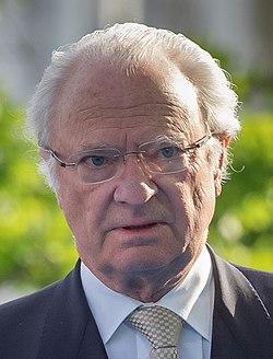 Charles XVI Gustave en 2016