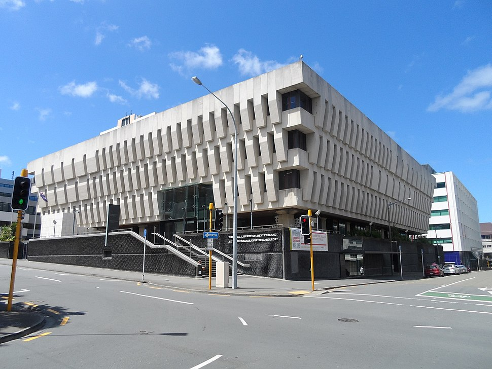 National Library of New Zealand Wellington 2015