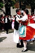 National costume and dance Csárdás