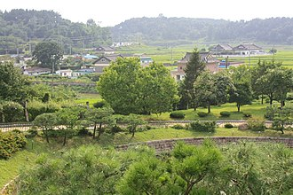 Korean Peninsula - A neighborhood in North Gyeongsang Province