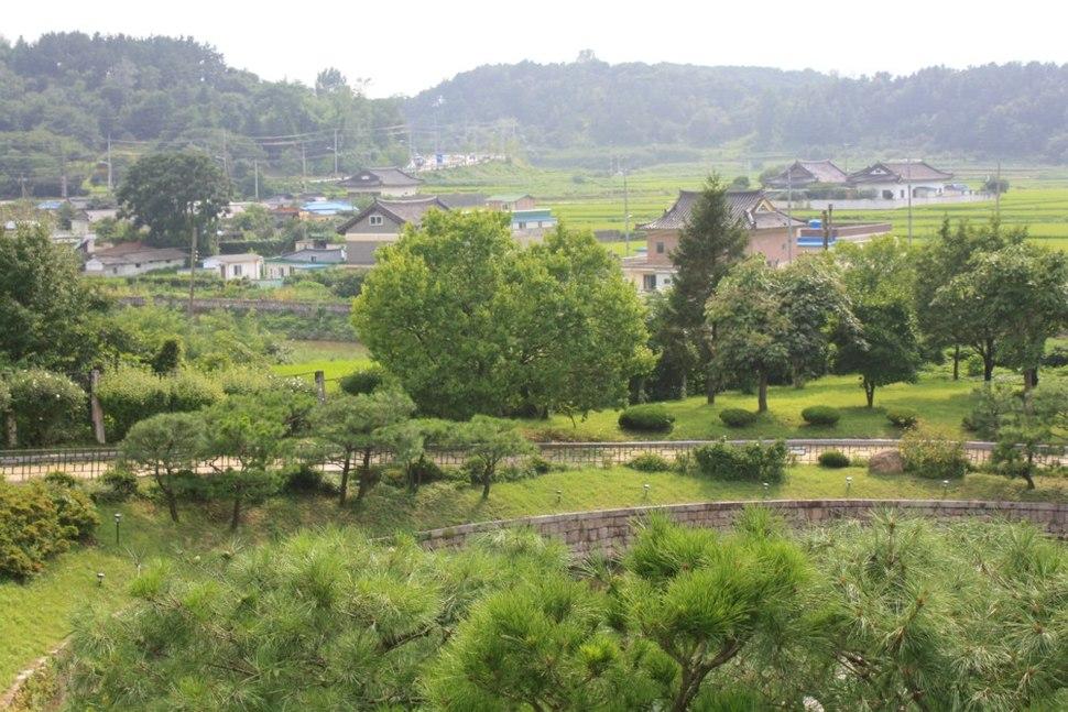 National museum area - Gyeongju