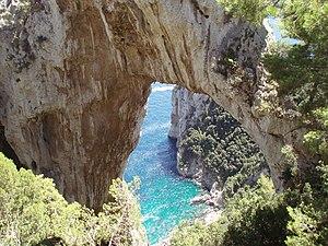 Arco Naturale - Image: Natural Arch Capri