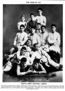 1879 Navy Midshipmen football team