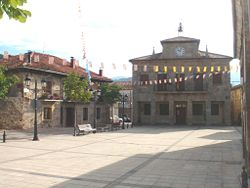 Plaza Mayor de Neila