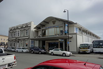 The Nelson Mail - The old and the new building of The Nelson Mail