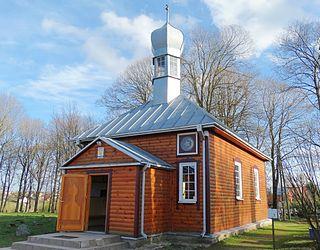 Nemėžis Village in Lithuania