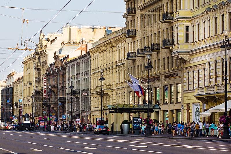 Hotéis bem localizados em São Petersburgo