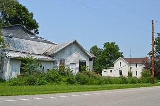 Van Buren Township, Hancock County, Ohio - On the Lincoln Highway in New Stark