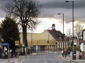Whitehorse Manor Junior School - Image: New Whitehorse Schools facade showing streetscape