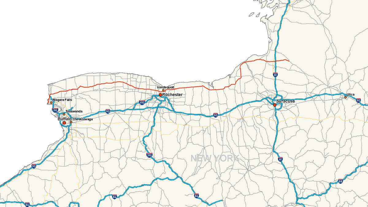 New York State Route 104 Wikipedia