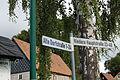 Niedercunnersdorf AlteDorfstraße 1 Schild.JPG