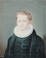 Portrait of Honoratus Halling