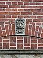 Nijmegen - Hoofd gemaakt door Egidius Everaerts op de gevel van Huis Heyendaal 05.jpg
