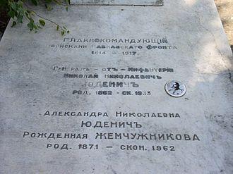 Nikolai Yudenich - Nikolai Yudenich grave