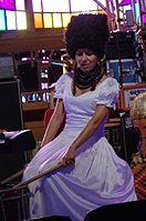 Nina Garenetska (DakhaBrakha) (Haldern Pop 2013) IMGP6644 smial wp.jpg