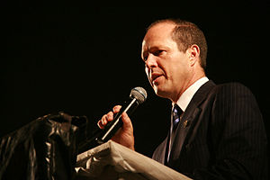 English: Nir Barkat, Mayor of Jerusalem, Israe...