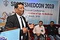 Nisith Ranjan Chowdhury Talks on Prevention of Sudden Death in Sports - SPORTSMEDCON 2019 - SSKM Hospital - Kolkata 2019-03-17 4041.JPG