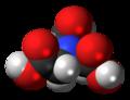 Nitrilotriacetic acid molecule spacefill.png