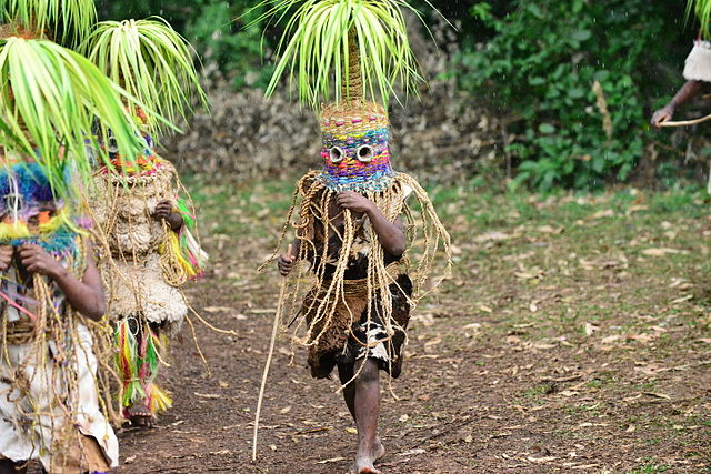 Máscaras de la etnia Tiriki