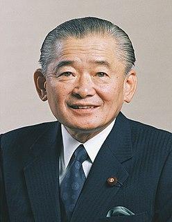 Noboru Takeshita Japanese politician
