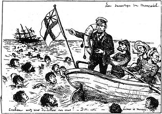 Normanton incident - Image: Normanton Incident(1886)