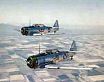 North American AT-6A Two-Ship Formation - Luke AAF AZ.jpg